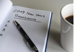 Bonnes résolutions de l'année