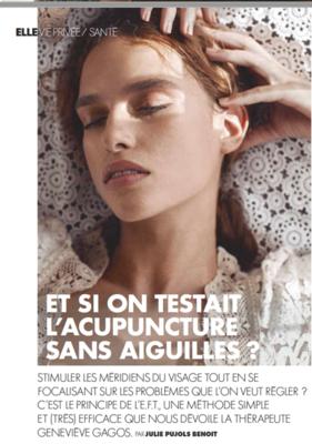 Geneviève Gagos répond à Julie Pujols Benoit pour le magazine ELLE