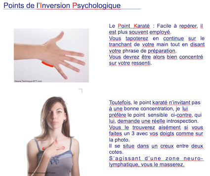 EFT - Points Inversion Psychologique