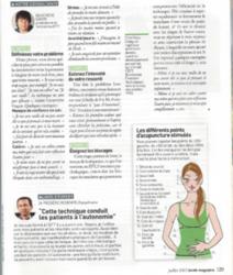 eft santé magazine 2 - Geneviève Gagos